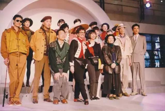 1991年合影_中国模特行业老照片回顾--【迈尚网】