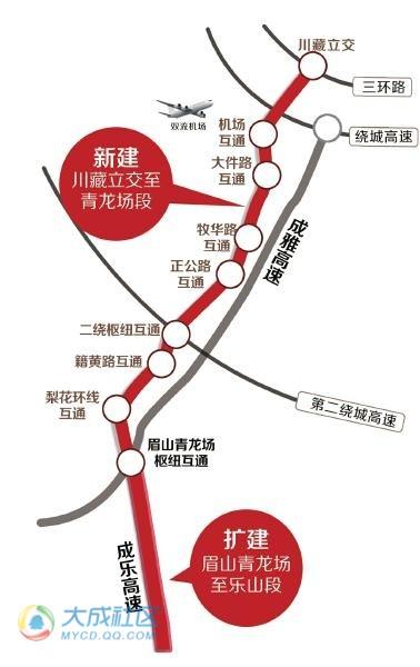 """""""根据规划,成德绵,成自泸,成南3条高速公路将建设城际间充电站桩,新"""