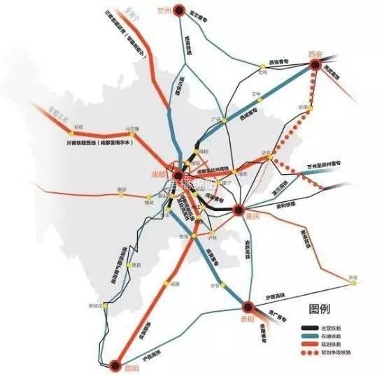 绵阳这个地方有福了 成都到三台城际铁路纳入规划